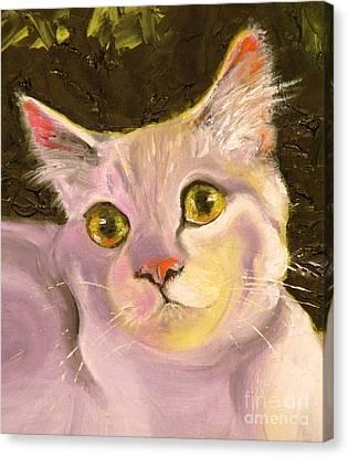 Palette Pal Close Up Canvas Print by Susan A Becker