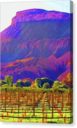 Palisades Canvas Print by Brian Davis
