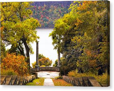 Palisades Vista Canvas Print by Jessica Jenney