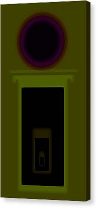 Palladian Green Canvas Print by Charles Stuart