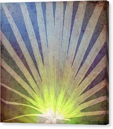 Palm Frond Light Canvas Print