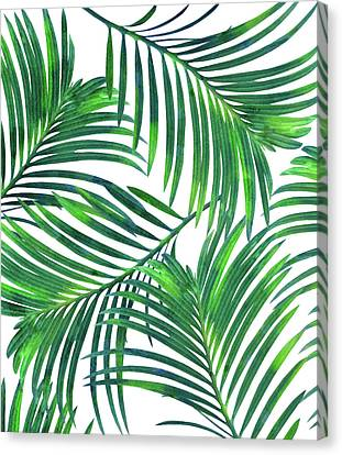Palm Paradise Canvas Print