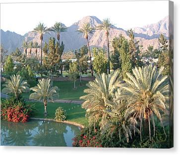 Palm Springs Ca Canvas Print by Cheryl Ehlers