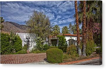 Palm Springs Home Of Liberace Canvas Print by Mountain Dreams