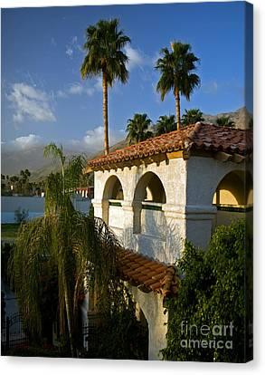 Palm Springs Morning Canvas Print