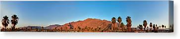 Palm Springs Sunrise Canvas Print