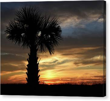 Palm Sunday Sunrise Canvas Print