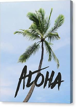 Hawaii Canvas Print - Palm Tree by Nastasia Cook