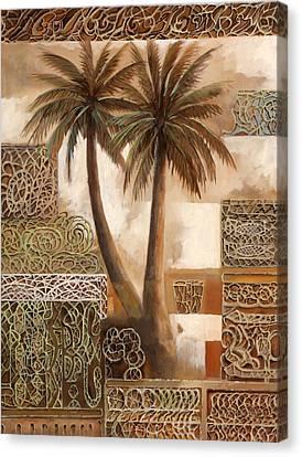 Palmotte Canvas Print