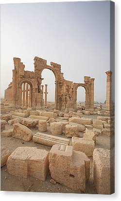 Palmyra Ruins, Syria Canvas Print