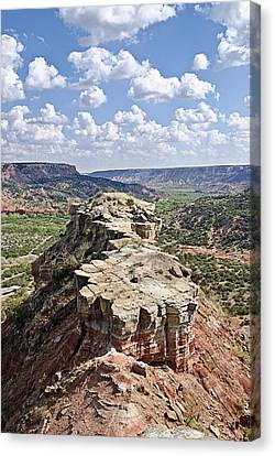 Palo Duro Canyon Canvas Print