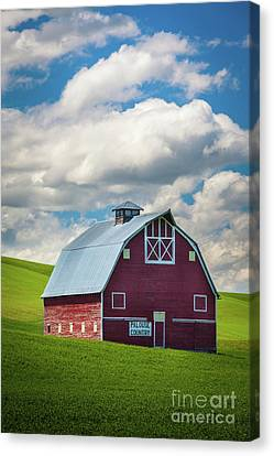 Palouse Country Canvas Print by Inge Johnsson