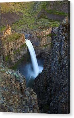 Palouse Falls Canvas Print by Mike  Dawson
