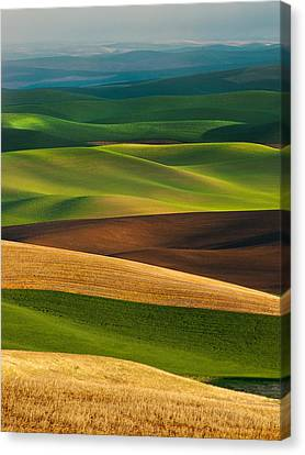 Palouse Layers Canvas Print