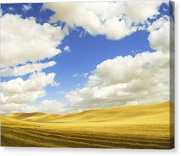 Palouse Valley Canvas Print by Anne Mott