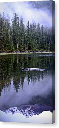 Pamelia Lake Reflection Canvas Print by Albert Seger