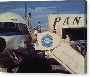 Pan American Airways Boeing 707 Canvas Print