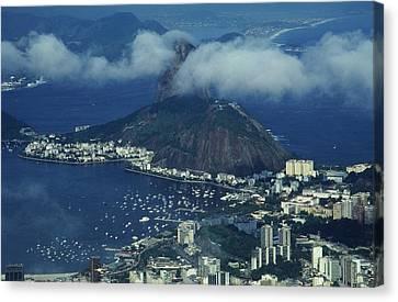 Pan De Azucar - Rio De Janeiro Canvas Print