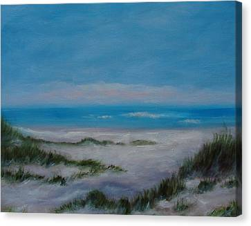 Panama City Beach IIi Colors Of The  Gulf Coast Canvas Print by Phyllis OShields