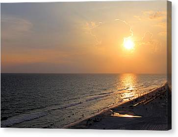Panama City Beach Canvas Print by Theresa Campbell