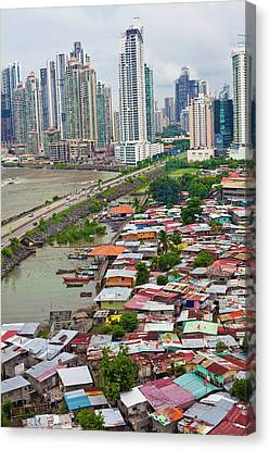 Panama City Canvas Print by Iris Greenwell