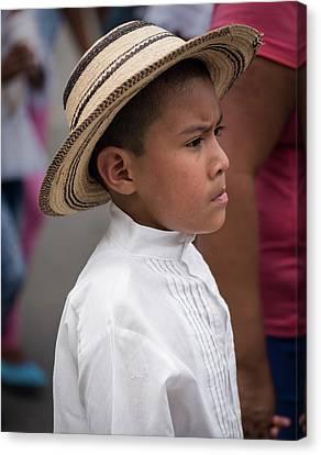 Panamanian Boy Canvas Print
