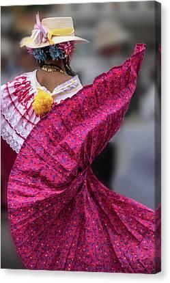 Panamanian Dancer 2 Canvas Print