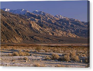 Panamint Valley Canvas Print - Panamint Valley And Range by Soli Deo Gloria Wilderness And Wildlife Photography