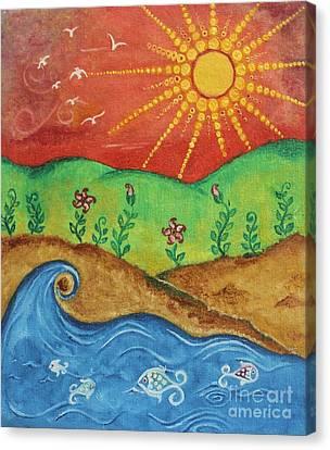 Panch Bhutatva  Canvas Print