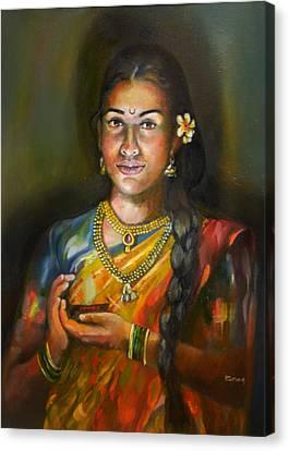 Panchali Canvas Print