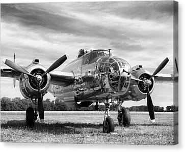 Panchito B-25 Canvas Print by Peter Chilelli