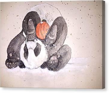 Pandamonium Album Canvas Print