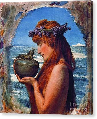 Pandora 1881 Canvas Print by Padre Art
