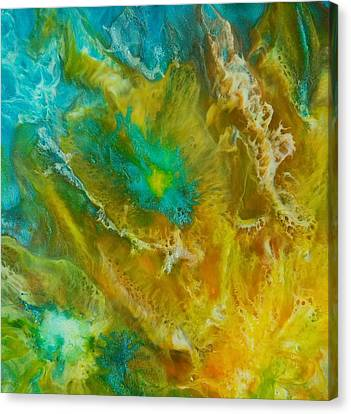 Canvas Print featuring the painting Pandora  by Christie Minalga
