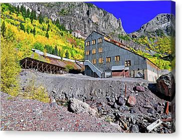 Pandora Mill - Telluride - Colorful Colorado Canvas Print by Jason Politte