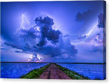 Panhandle Flood Canvas Print