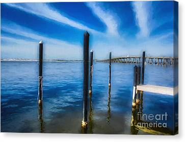 Canvas Print featuring the photograph Panhandle Poles # 3 by Mel Steinhauer