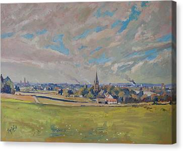 Panorama Maastricht Canvas Print by Nop Briex