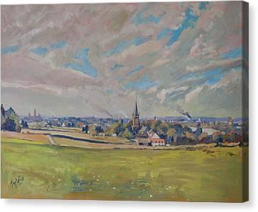 Canvas Print - Panorama Maastricht by Nop Briex