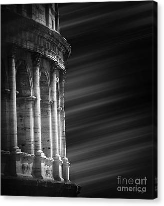 Panorama Of Roma Canvas Print by Stefano Senise