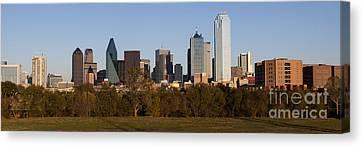 Panoramic - Dallas Texas Canvas Print