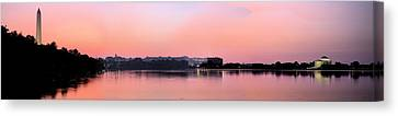 Panoramic Dawn Canvas Print by JC Findley