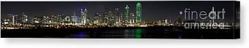 Panoramic Downtown Dallas, Texas Canvas Print