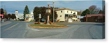 Panoramic View Of Copake, New York Canvas Print by Panoramic Images
