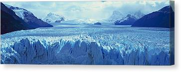 Ice Formations Canvas Print - Panoramic View Of Icy Formations by Panoramic Images