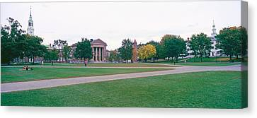 Panoramic View Of The Campus Canvas Print by Panoramic Images