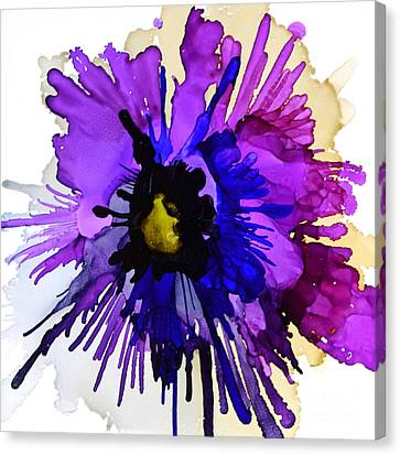 Pansy Punch Canvas Print by Marla Beyer