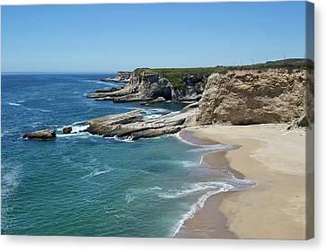 Panthers Canvas Print - Panther Beach - Santa Cruz County by Brendan Reals