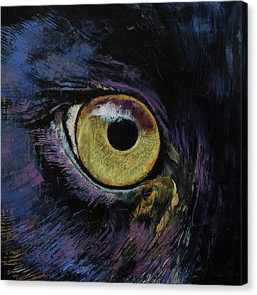 Panther Canvas Print - Panther Eye by Michael Creese
