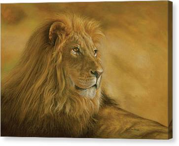 Masai Canvas Print - Panthera Leo - Lion - Monarch Of The Animal Kingdom by Steven Paul Carlson